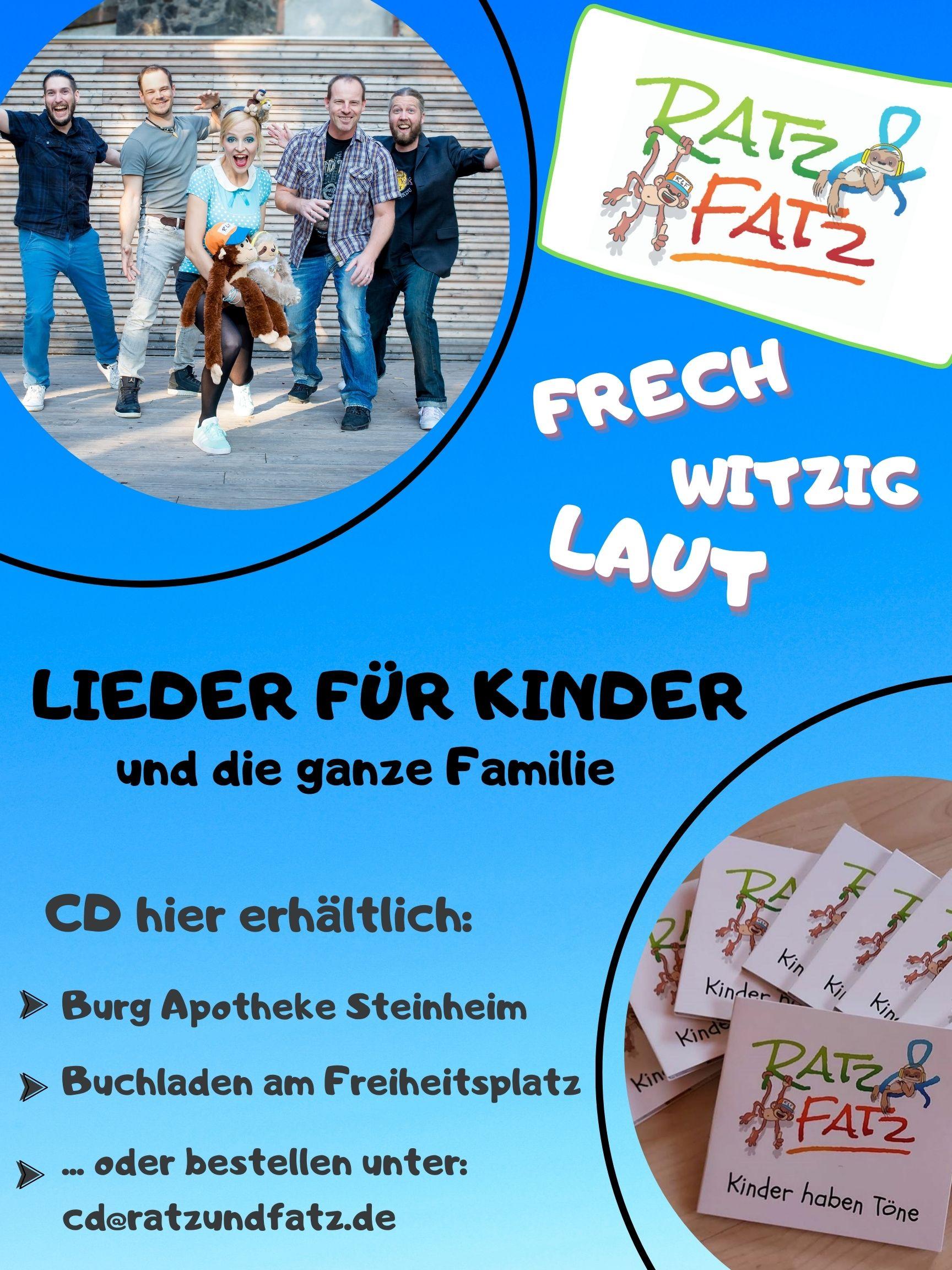 Plakat RATZ & FATZ